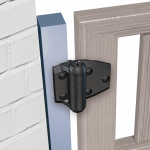 D&D Technologies Tru-Close Series 3 Regular Duty Hinges for Metal-to-Wood Gates - 2 Legs (TCA2L2S3-P)