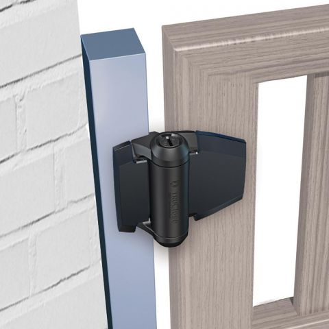 D&D Technologies TruClose Series 3 Regular Hinges for Metal-to-Wood Gates - No Legs
