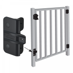 D&D Technologies Gate Stops For Metal Gates (TCGS3-P)