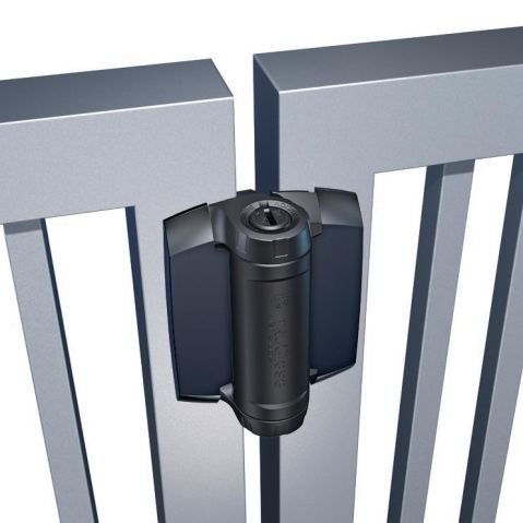 D&D Technologies TruClose Series 3 Heavy Duty Hinges for Metal Gates - No Legs