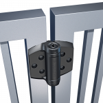 D&D Technologies Tru-Close Series 3 Heavy Duty Hinges for Metal, Wood, & Vinyl Gates (2 Legs) (TCHD1L2S3-P)