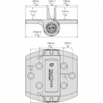 D&D Technologies Heavy Duty Tru-Close Series 3 Hinges (No Legs) (TCHD1S3-P) - Specifications