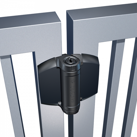 D&D Technologies TruClose Series 3 Heavy Duty Hinges for Metal, Wood, and Vinyl Gates - No Legs