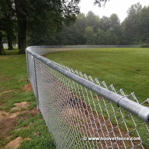 Hoover Fence Chain Link Homerun / Outfield Fencing Kits