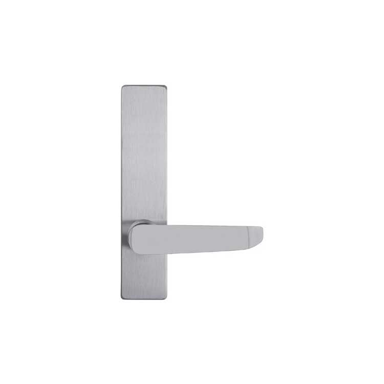 DAC Industries Always Active Outside Lever Handle Trim for Panic Bar Gates and Doors
