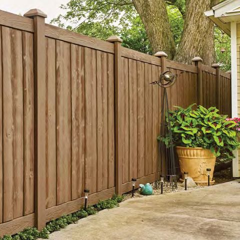 Bufftech Sherwood Vinyl Fence Panels