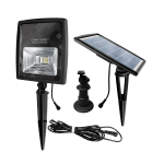 Gama Sonic 2W Solar Flood Light with Warm White Or Bright White LEDs (GS-203)