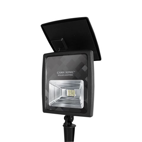 Gama Sonic 2W Solar Flood Light with Warm White Or Bright White LEDs
