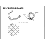 Self-Locking Fabric Bands (FABRIC-BANDS)