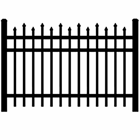 Jerith Industrial #100 Aluminum Fence Section