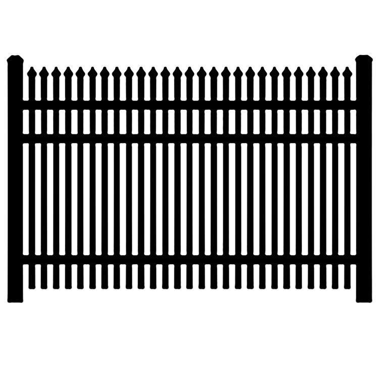 Jerith Industrial #401 Aluminum Fence Section