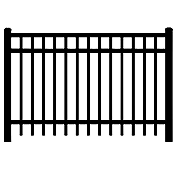 Jerith Industrial #I202 Aluminum Fence Section