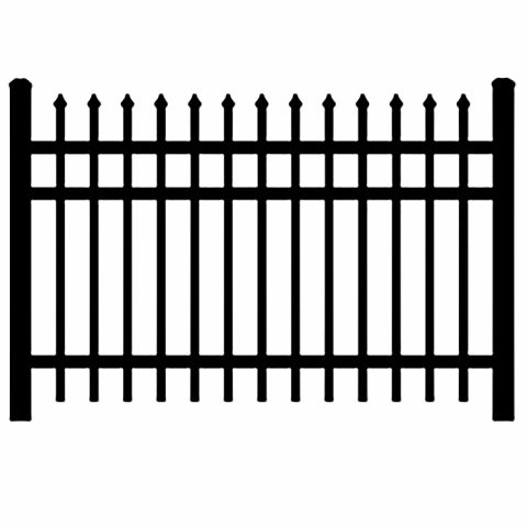 Jerith Industrial #I101 Aluminum Fence Section