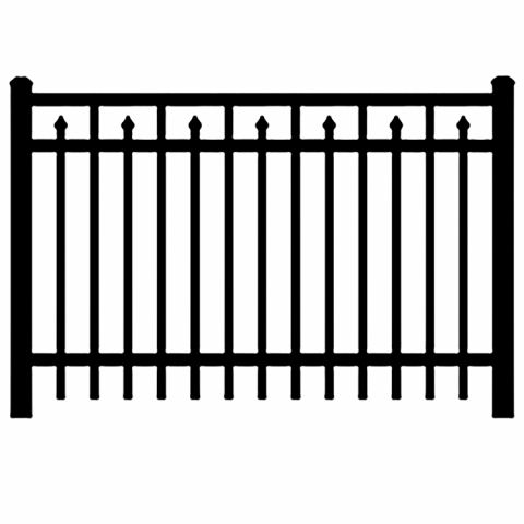 Jerith Industrial #I200 Aluminum Fence Section