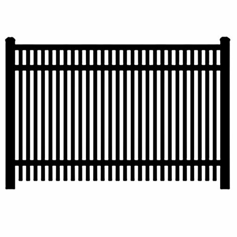Jerith Industrial #402 Aluminum Fence Section