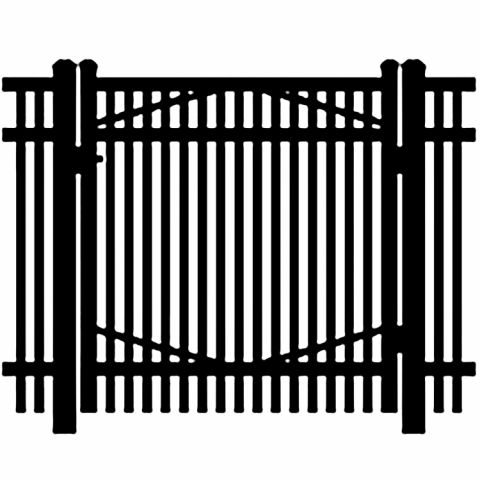Jerith Industrial #402 Aluminum Single Swing Gate