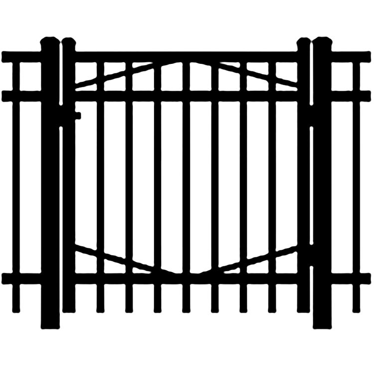 Jerith Industrial #202 Aluminum Single Swing Gate