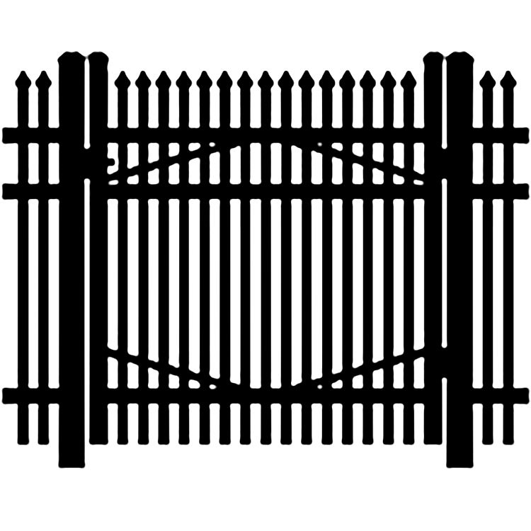 Jerith Industrial #401 Aluminum Single Swing Gate