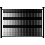 Jerith Patriot Steel Fence Section - 6ga Vertical (JP6-S)