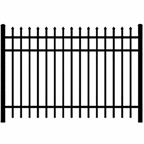 Ideal Maine #203 Aluminum Fence Section