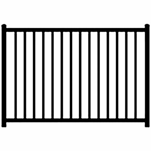 Ideal Alamo #400 Aluminum Fence Section