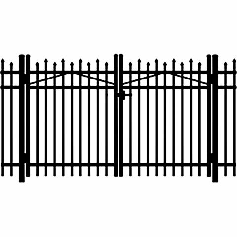 Jerith Legacy #100 Aluminum Double Swing Gate