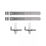 Snug Cottage Hardware 8305-S Heavy Duty Cranked Strap Hinge Hardware Sets