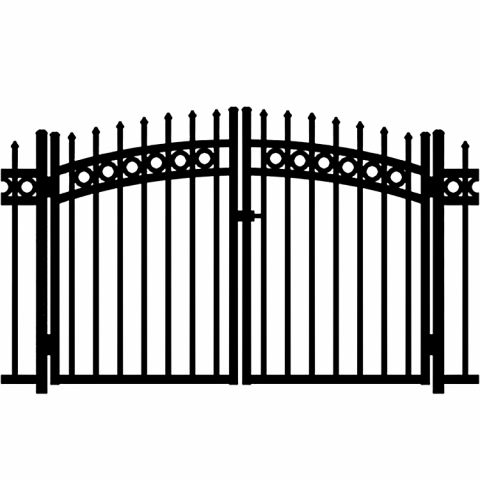 Jerith Buckingham Plus Rings Aluminum Rainbow Double Gate