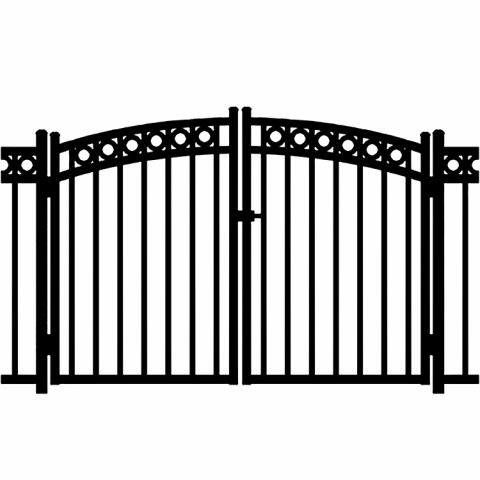 Jerith Windsor Plus Rings Aluminum Rainbow Double Gate