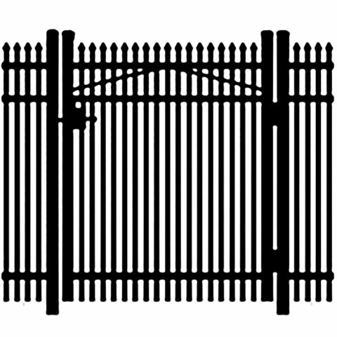 Jerith Legacy #401 Aluminum Single Swing Gate