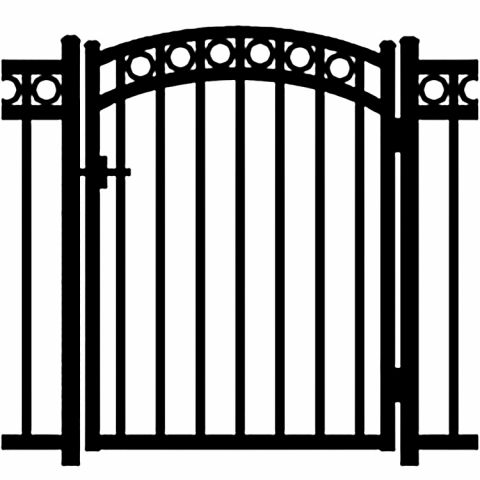 Jerith Windsor Plus Rings Aluminum Accent Gate