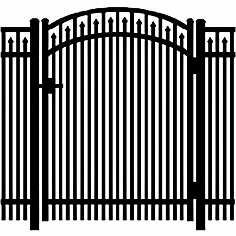 Jerith Legacy #400 Aluminum Accent Gate