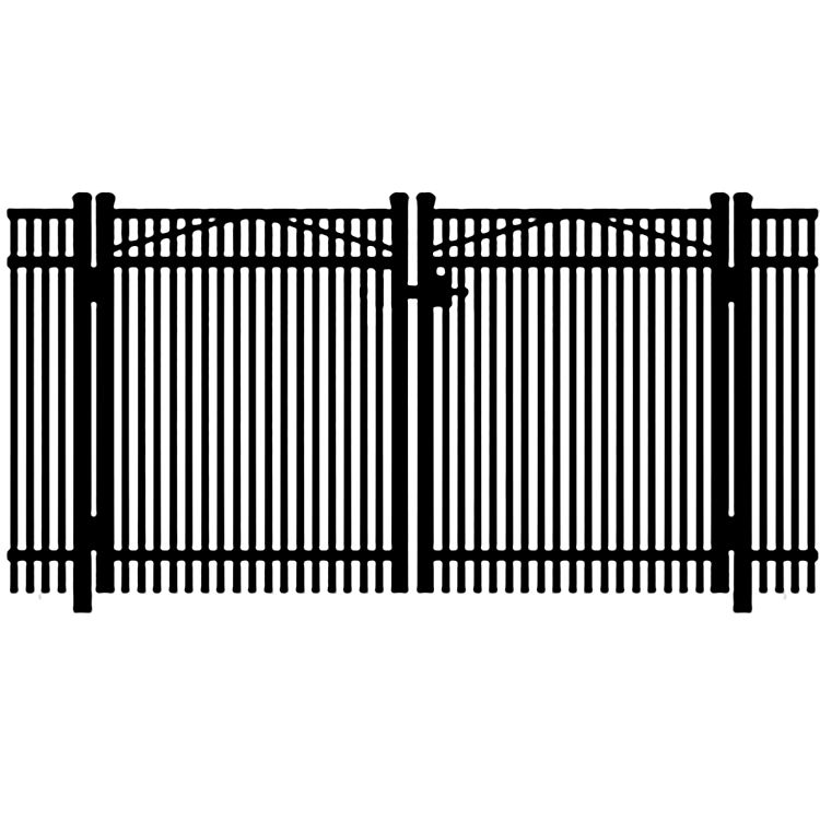Jerith Legacy #402 Aluminum Double Swing Gate