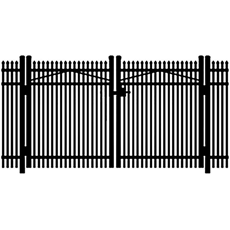Jerith Legacy #401 Aluminum Double Swing Gate