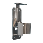 Snug Cottage Hardware 4100 Stainless Steel Quick Catch Gate Latch for Wood, PVC, Vinyl, and Metal Gates