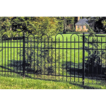 Jerith Legacy Concord #111 Aluminum Fence Section (JX-CONCORD-111-S)