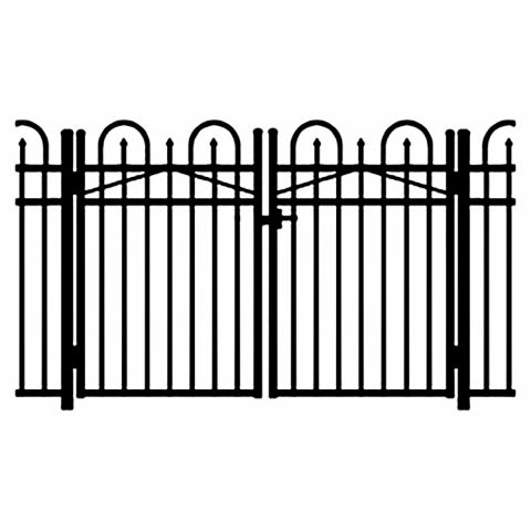 Jerith Legacy Concord #101 Modified Aluminum Double Swing Gate