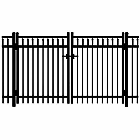 Jerith Legacy #200 Aluminum Double Swing Gate