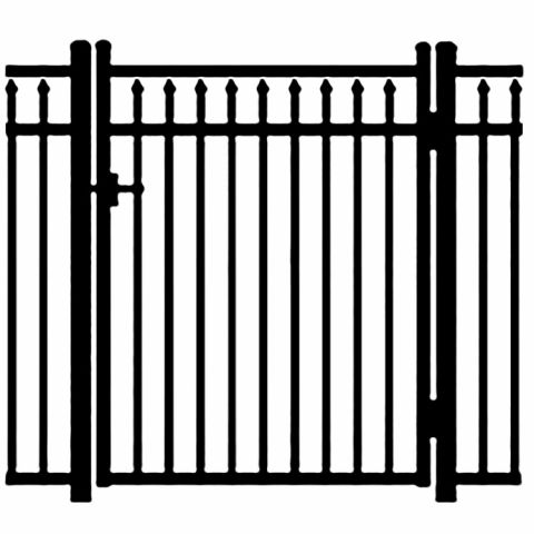 Jerith Legacy #200 Modified Aluminum Single Swing Gate