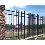 Jerith Legacy #100 Aluminum Fence Section (JX-100-S)