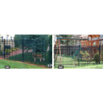 Jerith Legacy #401 Aluminum Fence Section (JX-401-S)