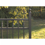 Jerith Legacy #211 Aluminum Fence Section w/Finials (JX-211-S)