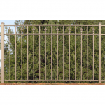 Jerith Legacy #211 Modified Aluminum Fence Section w/Finials (JX-211M-S)