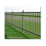 Jerith Industrial #I202 Aluminum Fence Section (JX-I202-S)