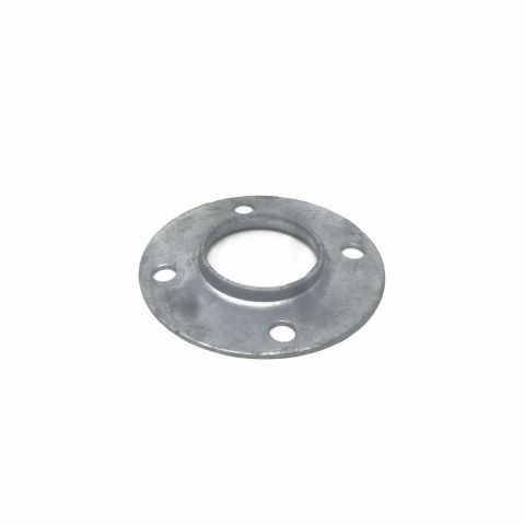 Chain Link Fence Floor Flange - Disc Type