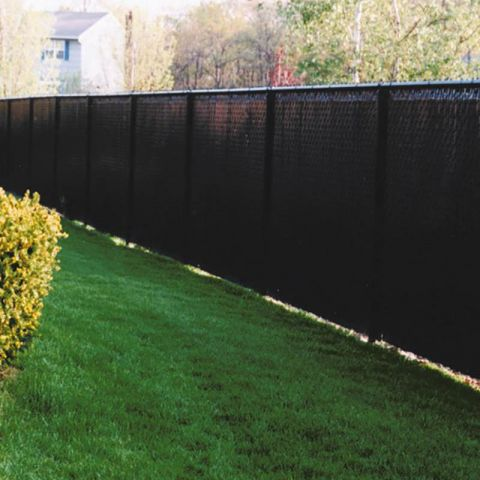 Pexco PDS Bottom Lock Privacy Slats for Chain Link Fence