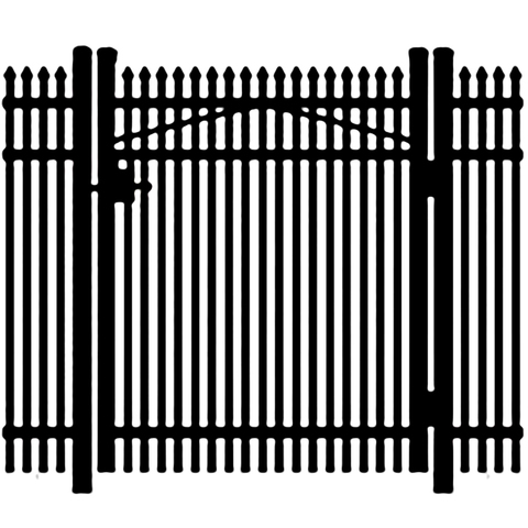 Jerith Premier #401 Aluminum Single Swing Gate