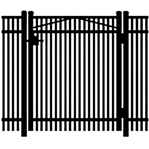 Jerith Premier #402 Aluminum Single Swing Gate