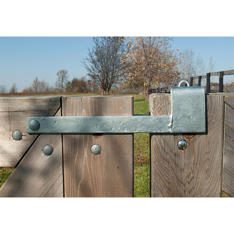 Snug Cottage Hardware Throw Over Gate Loop Latches for Wood Gates