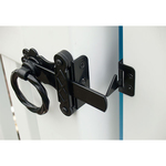 Snug Cottage Hardware Twisted Ring Gate Latches for Vinyl Fence Gates (4149-VINYL)